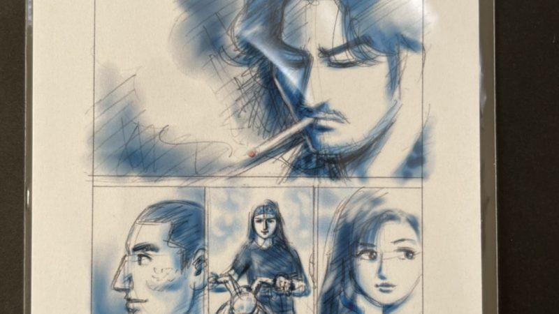 【塚原洋一】パチラッチ  ポストカード 表紙(オリジナルカラー)